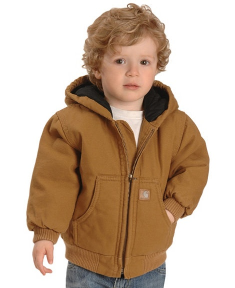 Carhartt Toddlers Duck Active Jacket 2t 4t Sheplers