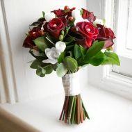 Joyful Queen Bridal Bouquet - Joyful Queen Bridal Bouquet > View Full-Size Im... | Queen, Joyful, Aud, Look, Purchased | Bunche