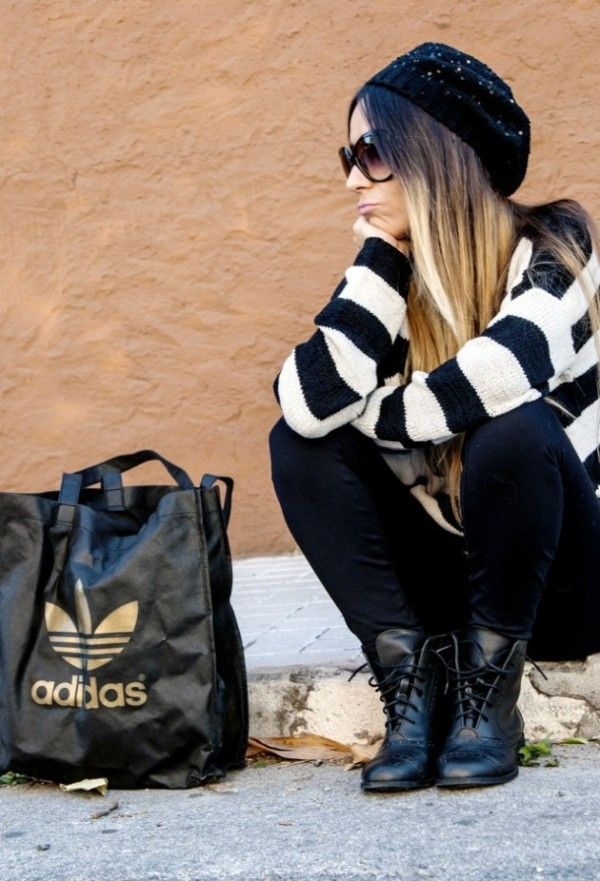 26 Beanie Outfit Ideas ‹ ALL FOR FASHION DESIGN