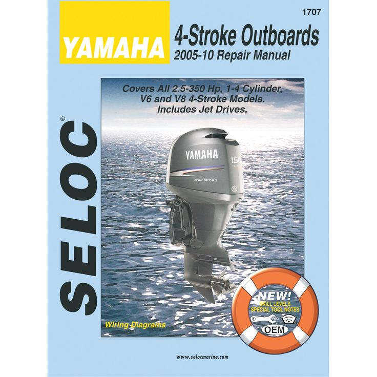57 best boat motor manuals images on pinterest repair manuals seloc service manual yamaha all 4 stroke engines 2005 2010 fandeluxe Images