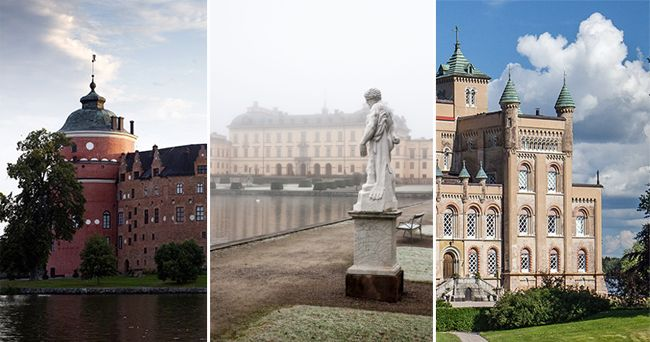 7 vackra svenska slott som är värda ett besök
