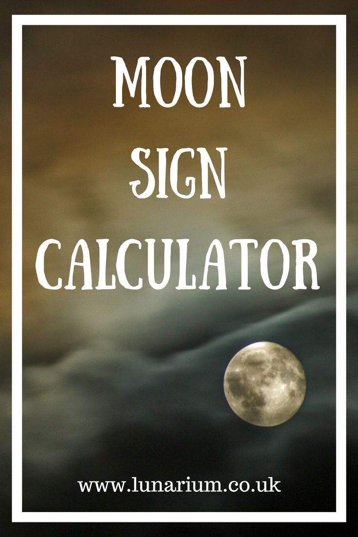 Find out your moon sign using this easy calculator - Zodiac - Astrology