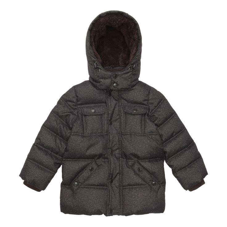 Куртка детская для мальчиков темно-серая темно-серая (11401711). Купить дешево в интернет магазине Acoola Kids.