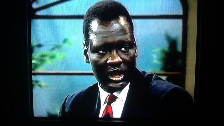 Manute Bol interview from Regis and Kathie Lee 1993. Killed a lion expla...