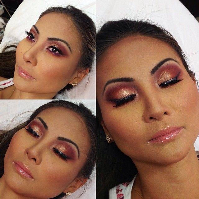 Makeup by Roberta Peixoto. ♥ http://robertapeixoto.com.br/