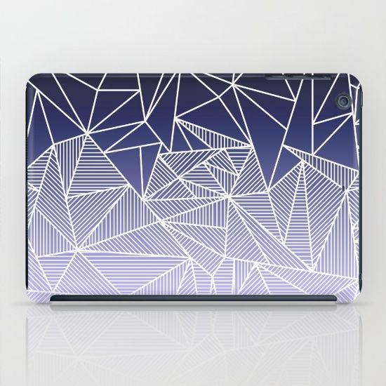 'Bayo Rays' iPad Case by Fimbis | Society6 . . iPad Mini, accessories, design, fashion, summer, gradient, purple, lilac, white, fashionista,