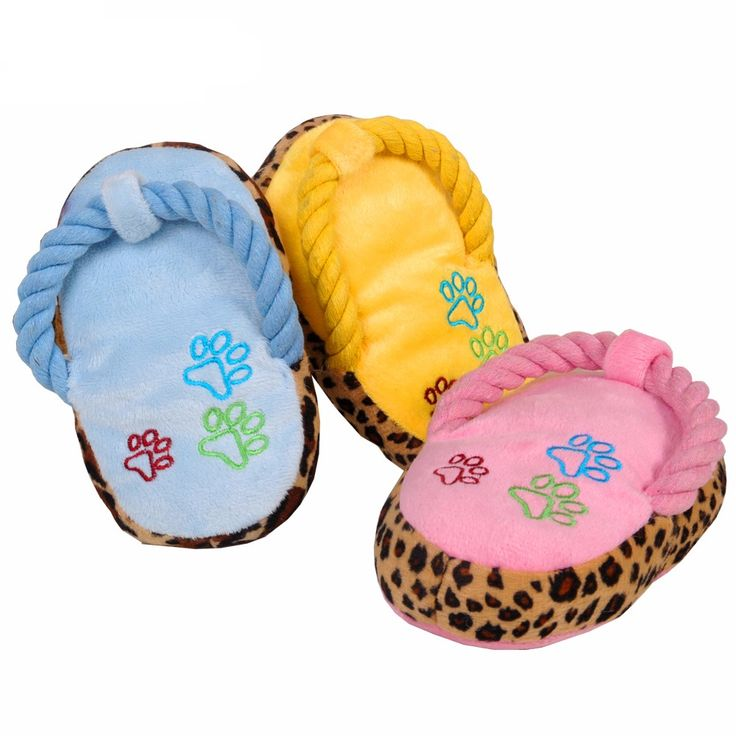 Lovely Dogs Toy Pet Puppy Chew Play Cute Plush Slipper Shape Squeaky Toys for Dog Pets Supplies Factory Direct // Worldwide FREE Shipping //     #supplies