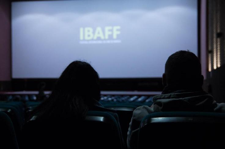 Antes de la proyección de LIKE SOMEONE IN LOVE (Abbas Kiarostami) en la Filmoteca de Murcia.