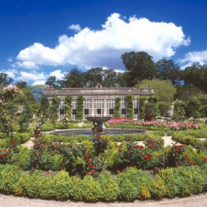 Longleat is an English stately home, currently the seat of the Marquesses of Bath, adjacent to the village of Horningsham and near the towns of Warminster in Wiltshire and Frome in Somerset.
