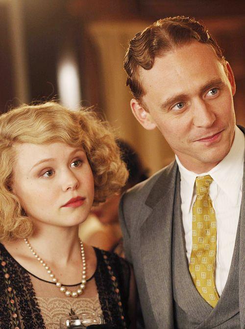 Alison Pill & Tom Hiddleston as Ella & F. Scott Fitzgerald in Midnight in Paris
