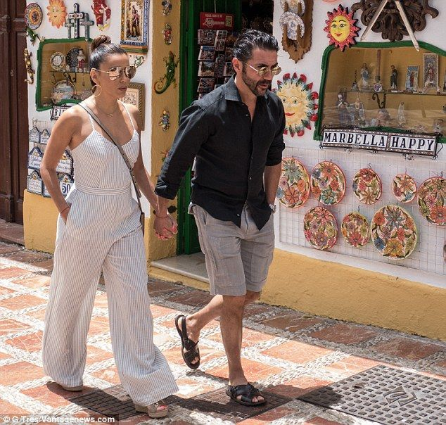 Newly married: Eva and Pepe tied the knot in May in Mexico