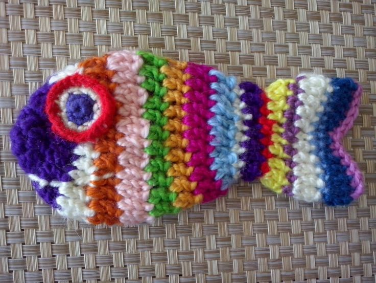 Crochet decor for kitchen