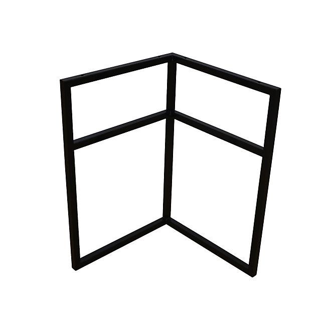 Alsia Trteau de bureau universel en mtal noir pour plateau