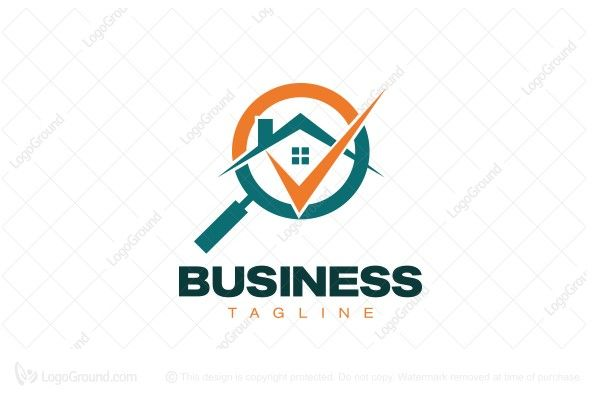 Logo for sale: Realty Search Logo