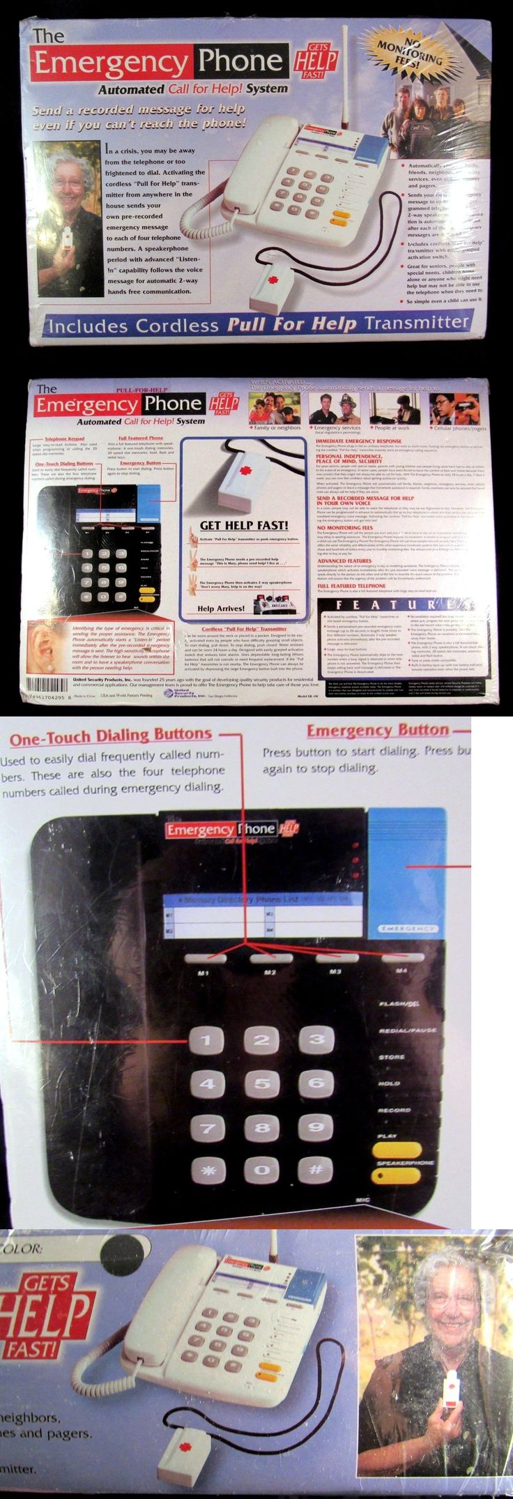 Emergency Alert Systems: Emergency Phone Dialer No Monthly Fees With Pendant Remote Alert Medical Sys New -> BUY IT NOW ONLY: $59.99 on eBay!