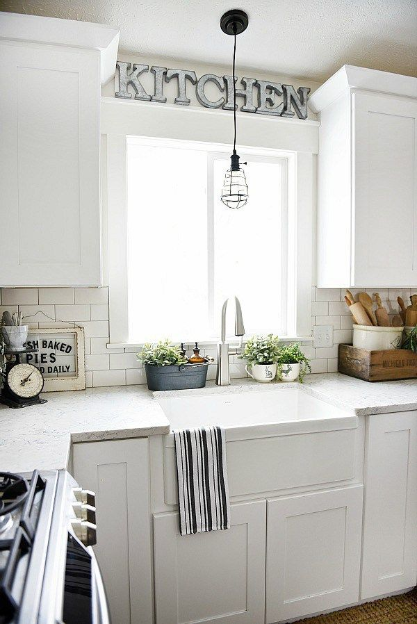 above kitchen sink decor farmhouse sink review pros amp cons cupboards soaps 3965