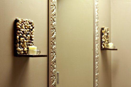 22 μοναδικές ιδέες διακόσμησης με βότσαλα και πέτρες!