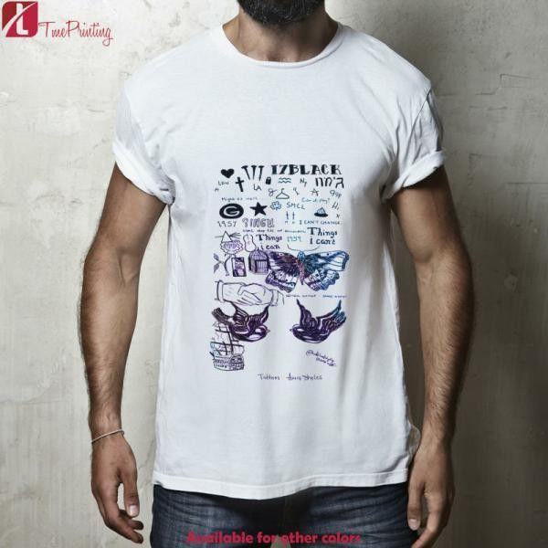 One Direction Tattoos for Men T-Shirt, Women T-Shirt, Unisex T-Shirt