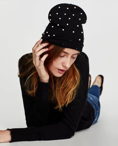 Image 4 of PEARLY HAT from Zara
