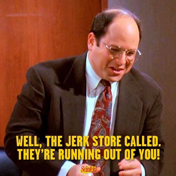 Image result for costanza the jerk store