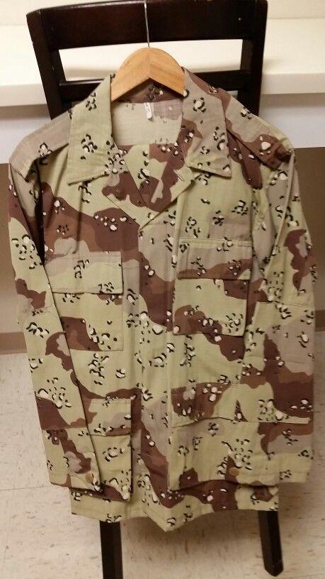 Saudi Military Chocolate Chip Camouflage Set