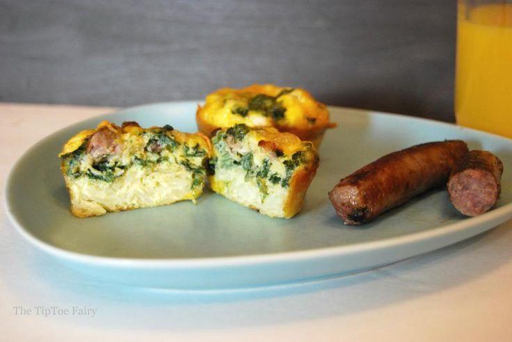 Ad: Breakfast Mini Quiche #TheWrightBreakfast on the Go - The TipToe Fairy