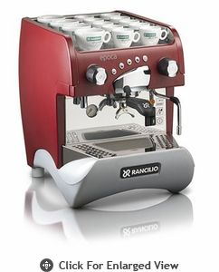 Rancilio Espresso Machine Epocha ST-1 Red $2100  A commercial quality espresso machine for the home.  Treat Dad to a cup every day...he'll love you even more.