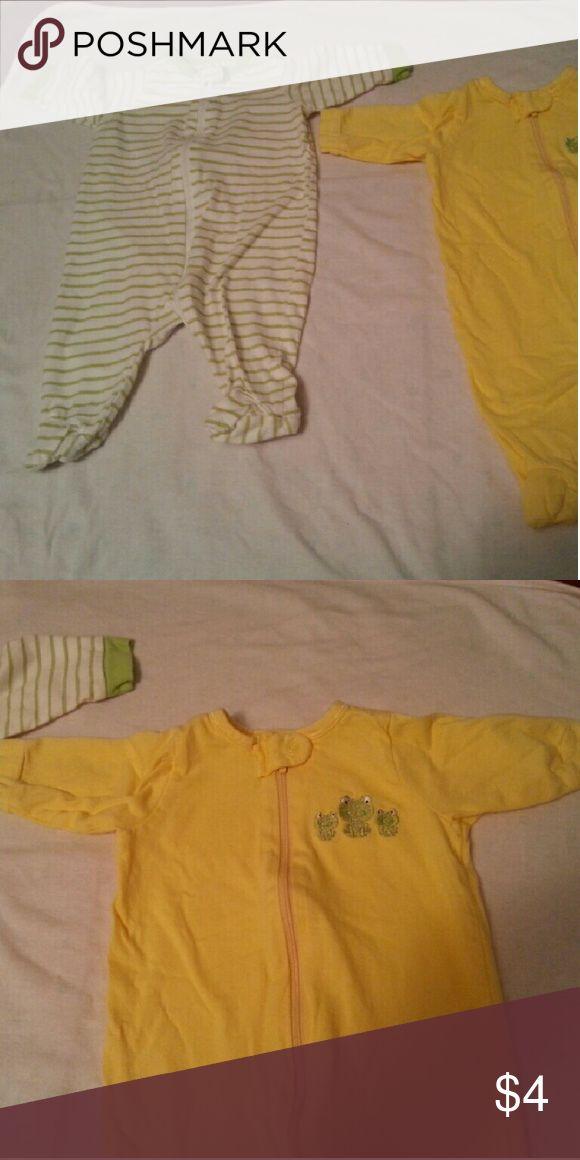 Baby girl clothes Excellent condition Gerber Pajamas Pajama Bottoms