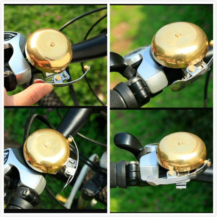 Amazon.com : SZHOWORLD CoolChange Mini Vintage Bicycle Copper Bell Rain-proof Waterproof Classic Bike Cycling Loud Sound Bells : Sports & Outdoors