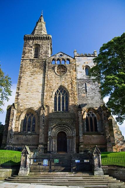 Dunfermline Abbey main door. Scotland