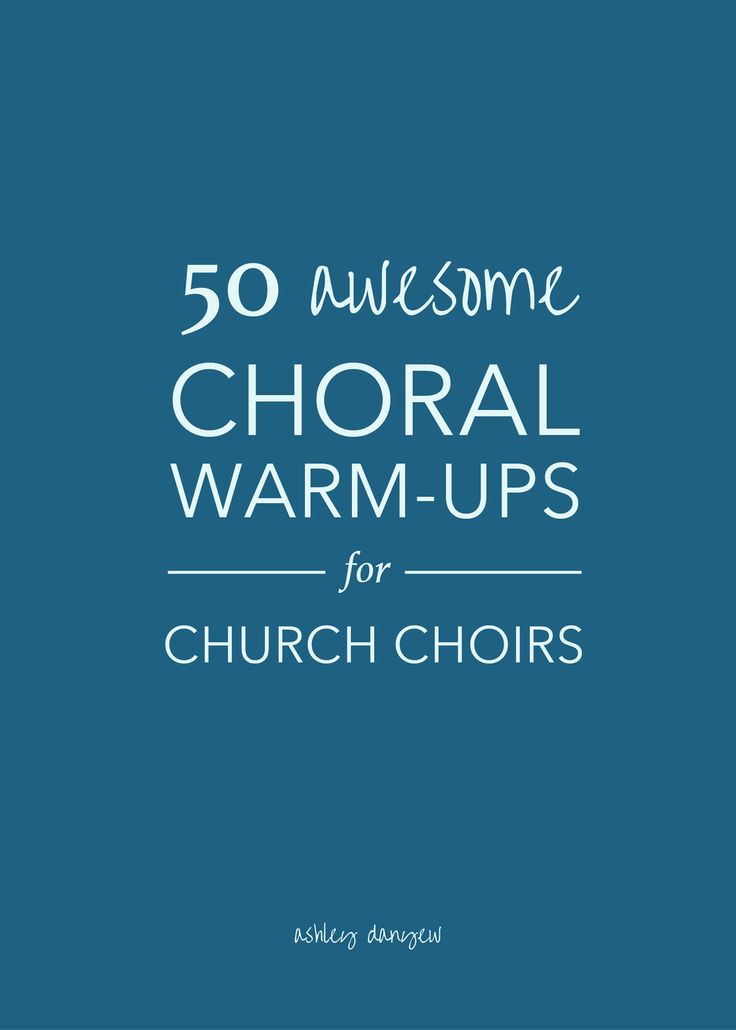 Vocal warm-ups are an important part of singing, but they offer many other   benefits in a choral setting. Choral warm-ups are an important and powerful   tool to get your group singing together with a good tone, resonance, and   proper breath support (source). Plus, there are many ways to include