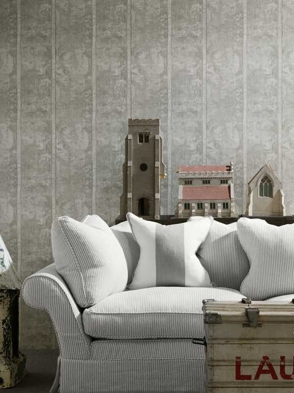 Tapestry wallpaper, from the Museum Collection. Available in South Africa through www.halogen.co.za