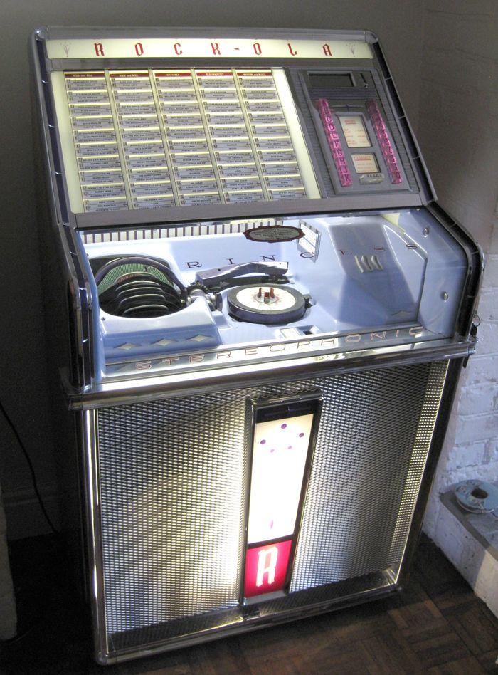 Pin On Rock Ola Jukebox
