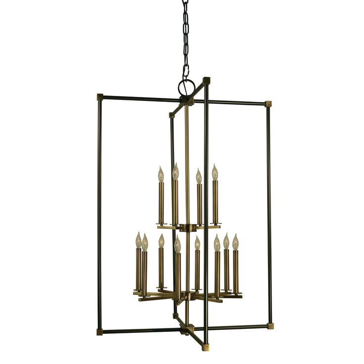 framburg lexington 12 light chandelier - Foyer Chandeliers