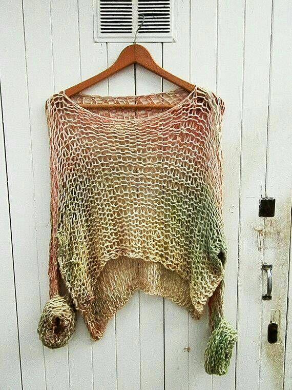 Sweater  knit long sleeve  soft cotton jumper tie dye