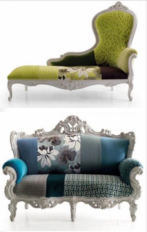 Vintage Sofa And Chair By Moda | Home Furniture Today