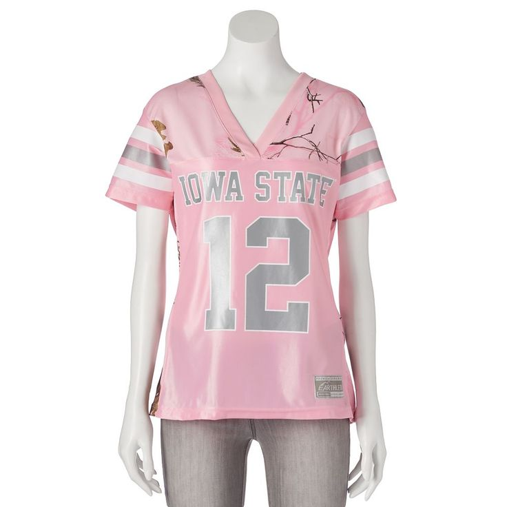 Women's Realtree Iowa State Cyclones Game Day Jersey, Size: Medium, Pink