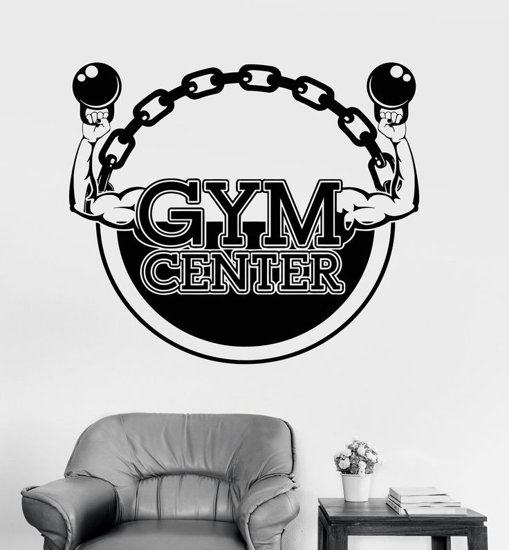 Vinyl Wall Decal Gym Center Bodybuilding Fitness Sport Stickers Unique Gift (ig4225)