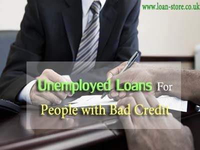 how to get car loan if unemployed