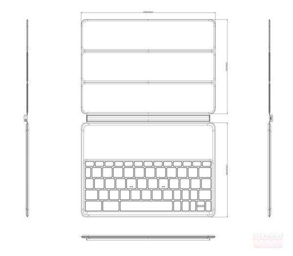 Nexus 8: Tablet-Case mit Tastatur aufgetaucht  #nexus8
