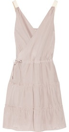 DAY Birger et Mikkelsen Casual wrap-effect silk dress #summer