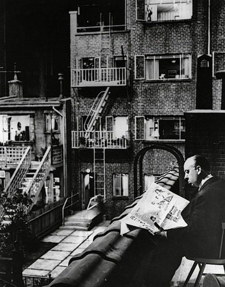 Hitchcock sur le tournage de fen tre sur cour phrases for Fenetre sur cour film