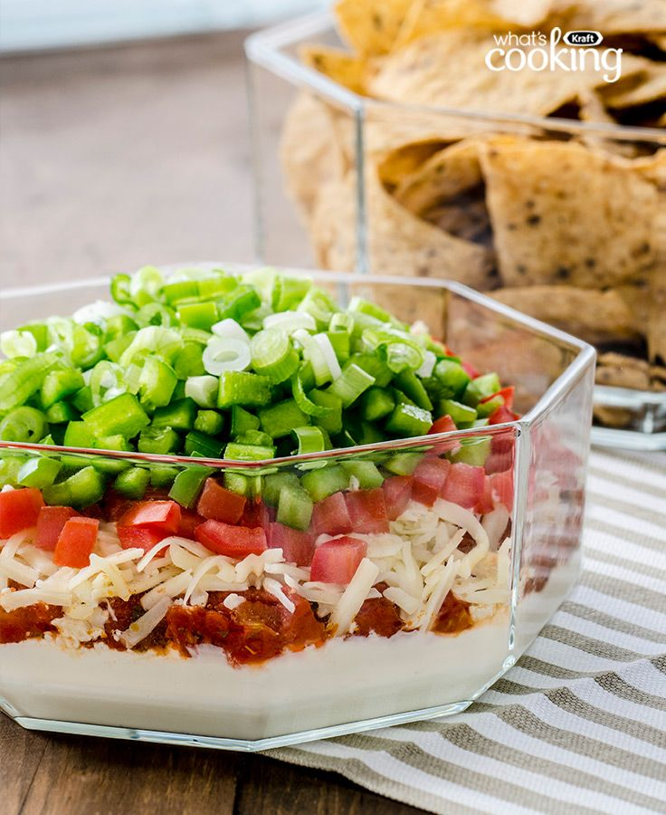 Favourite Layered Dip Made Over #recipe