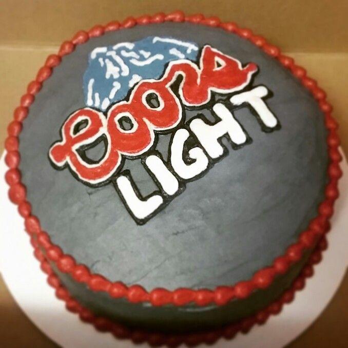Coors Light Birthday Cake Cake Pinterest Birthday
