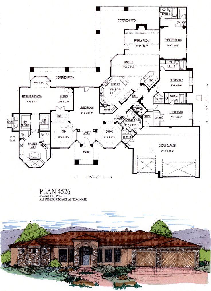 4500 sq ft house plans contemporary house plans cat