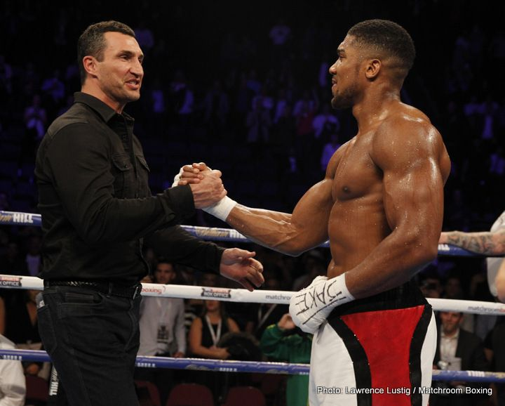 Wladimir Klitschko inspired by one of his idols Bernard Hopkins could fight until age 50!