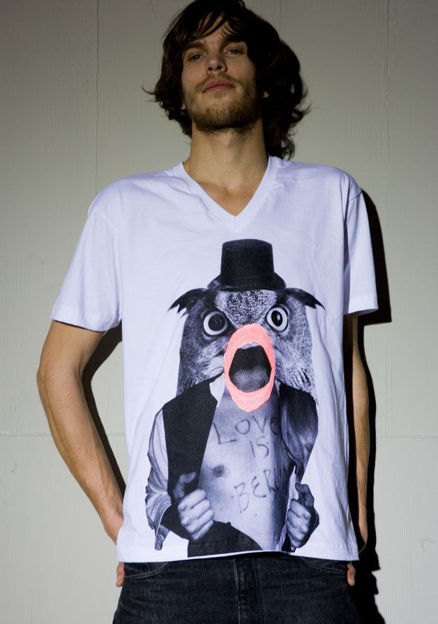Printed T-Shirts – LOVE IS BERLIN – a unique product by Dirty-Guys on DaWanda