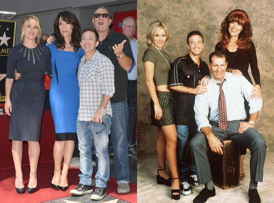 Married With Children Reunion! Katey Sagal, Christina Applegate, Ed O'Neill, David Faustino