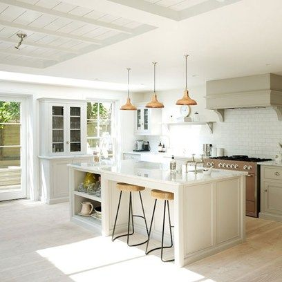 This traditional kitchen comes from the Ilse Crawford designed Ett Hem hotel in Stockholm.