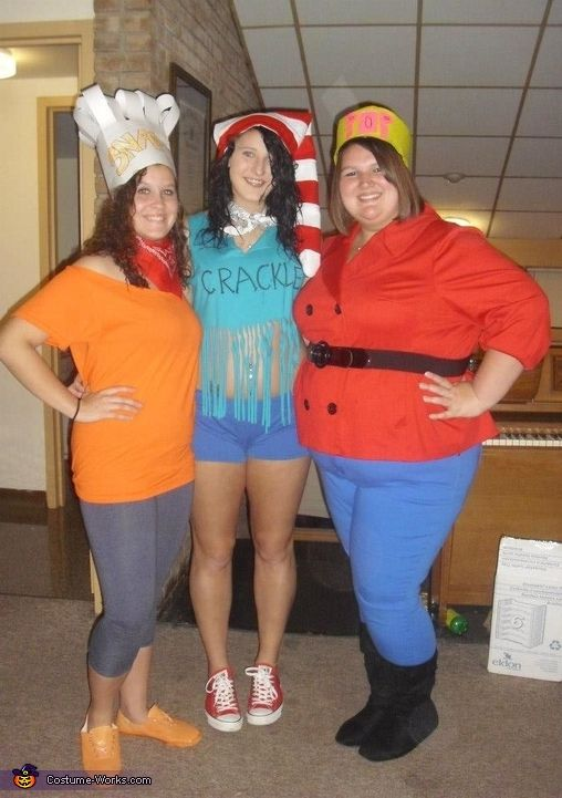 Halloween costumes for threesomes